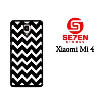 Jual Casing Xiaomi Mi4 pattern white and black Custom Hardcase  Murah