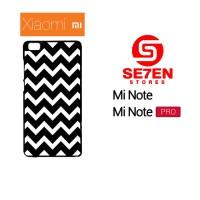 Jual Casing HP Xiaomi Mi Note, Mi Note Pro pattern white and black Custom H Murah
