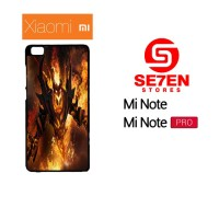 Casing HP Xiaomi Mi Note, Mi Note Pro Shadow Fiend Dota 2 Custom Hardc