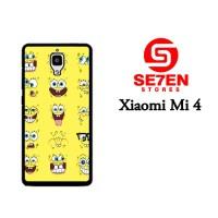 Jual Casing Xiaomi Mi4 Spongebob faces Custom Hardcase  Murah