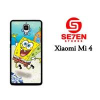 Jual Casing Xiaomi Mi4 SpongeBob 2 Custom Hardcase  Murah