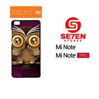 Jual Casing Xiaomi Mi Note / Mi Note Pro Owl color Custom Hardcase  Murah