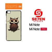 Jual Casing Xiaomi Mi Note / Mi Note Pro coffee owl Custom Hardcase  Murah