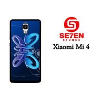 Jual Casing Xiaomi Mi4 Slank 3 Custom Hardcase  Murah