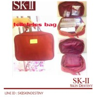 SK-II/SK2/SKII/ SK II COSMETIC NIGHTER POUCH 20X15 CM