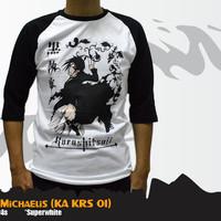 Kaos Anime | T-Shirt Anime | KA KRS 01 | Kaos Sebastian Michaelis