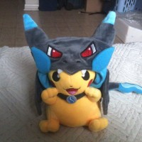 Jual Boneka Pikachu Mega Charizard Smile Boneka Pokemon Boneka Panda  Murah