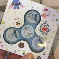 Jual 37 - Fidget Spinner karakter Doraemon Fidget Spinner Impor Murah