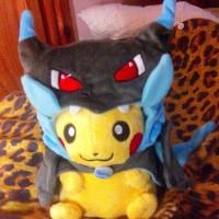 Jual Boneka Pikachu Mega Charizard Angry Boneka Pokemon Boneka Panda  Murah