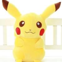 Jual Boneka Pikachu 35cm Boneka Pokemon Boneka Panda Stitch Kucing Bantal  Murah