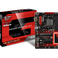 ASRock Fatal1ty AB350 Gaming K4 (AMD B350,AM4,DDR4) Support AMD Ryzen