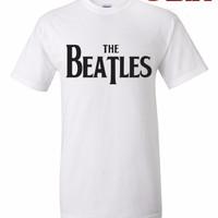 Jual Kaos / T-Shirt - The Beatles - WHITE Murah