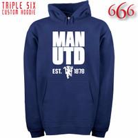 Jual Jaket Hoodie Bola - Manchester United / MU 7 Murah