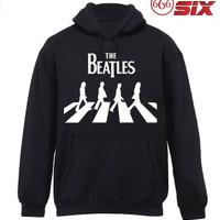 Jual Jaket Hoodie - The Beatles 2 - BLACK Murah