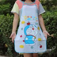 Jual Celemek Doraemon Anti Air Anti Minyak / Waterproof & Oilproof Apron Murah