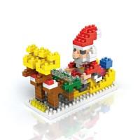 Jual AD3952 Loz Lego Nano Block Santa Sleigh KODE Gute3818 Murah