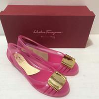 Jual Salvatore Ferragamo Bermuda Jelly Shoes Murah
