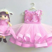 Jual KP222 Barbie Dress Kids Baju Anak 0138 KODE TYR278 Murah