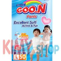 Jual Popok Celana Bayi Goon Premium Pants L 50 Diapers Murah