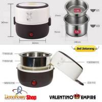 Jual Rice Cooker Mini / Penanak Nasi 2susun + Egg Boiler Dapur Masak Beras Murah
