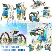 Jual 14 in 1 Solar Robot DIY Educational Kit Murah