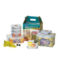 LOCK & LOCK Airtight Plastic Food Container 7P Set(Home Party Gift Set