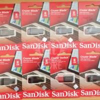 Jual USB Flashdisk FD FlashDrive SanDisk 8GB - 8 GB Cruzer Blade Original  Murah