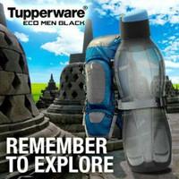 Jual tupperware eco men black botol bottle tempat air minum bagus dan murah Murah