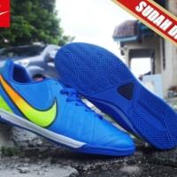 Nike Hypervenom Biru KW Super(sepatu futsal,bola,olahraga,pria)