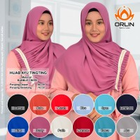 Jual Hijab Bubble Crepe / Khimar / Jilbab / Hijab Ayu Tingting Murah