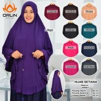 Jual Hijab Jersey / Khimar / Jilbab / Hijab Setiana Murah