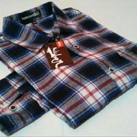 Jual Kemeja Flanel Panjang/ Branded Distro/ Premium Quality/ Termurah Murah