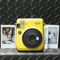 Jual Fujifilm Instax Mini 70 Kamera Instant Yellow + BONUS Murah
