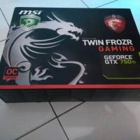 Jual MSI GTX 750Ti Twin Frozr OC 2G Murah