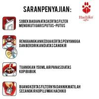 Jual [ Hachiko ] Kopi LUWAK liar Sumatran 3 drip x 12gr 100% Diskon Murah