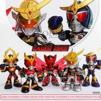 Jual 5pcs Figure Kamen Rider Chibi Set C-Ksatria Baja-Super Hero-Toys-VA045 Murah