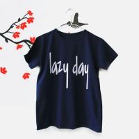 Jual Tumblr Tee / T-Shirt / Kaos Wanita Lengan Pendek Lazy Day Murah