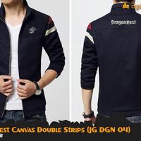 Jaket Game Dragon Nest Canvas Double Strips (JG DGN 04)