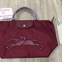 Longchamp Victoire Victori Size M Medium Original Tali