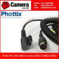 Phottix PPL-200 Cable for Canon 580EX II 580EX 550EX/ Kabel Flash