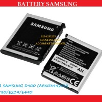 grs gnt baru 800mah Battery batre Samsung D900 Ab503442cu 100175