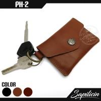 Jual Dompet STNK Kunci Kulit Sapi Slim Cowhide Key Pocket Wallet (PH-2) Murah