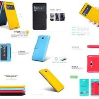 Jual OP2324 Nillkin Fresh Leather Case Lenovo S930 KODE Bimb2801 Murah