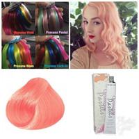 pravana vivids pastel too cute coral hair color cat rambut patel coral