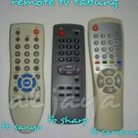 Remote murah TV Tabung Sanyo/Sharp/Samsung