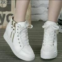 Jual Sepatu Boots Sneakers Wedges Korea Style : Double Seleting Murah