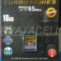 Jual MEMORY VGEN TURBO SERIES 16GB CLASS 10 SPEED 85MB/S Murah