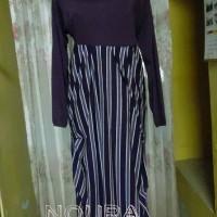 Jual Gamis Purple Stripe Murah