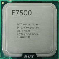 Prosesor TRAY E7500 2. 93Ghz 1TAHUN