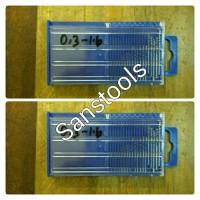 mata bor kecil mini 0,3-1,6mm set 20pcs rujuk rojok spuyer carburator
